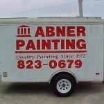 Abner Painting trailer