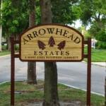 Arrow Head Estates Sandblasted