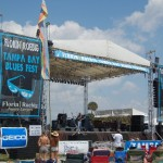 Blues Fest Stage Banners