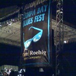 Blues Fest at night