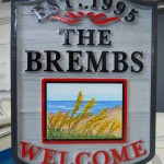 Brembs House Sign