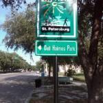 City Bike Trail Signs