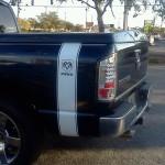 Dodge Ram Pin Striping