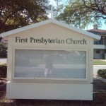 First Presbyterian Church Monument