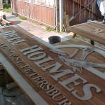 Making of City Sandblasted signs2