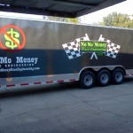 No Mo Money Racing Trailer