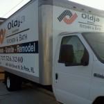 Oldja Box truck