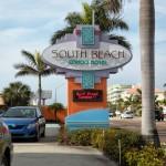 South Beach Condo Pylon