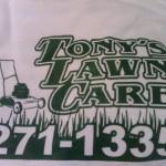 Tony's lawn care