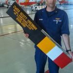 US Navy Custom Lettering on Blade